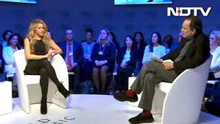 Secretly Hope My Kids Become Humanitarians, Shakira Tells Prannoy Roy