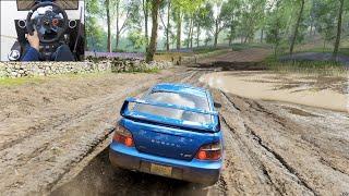2004 Subaru WRX STI - Forza Horizon 4 | Logitech g29 gameplay
