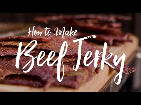 Smoked Beef Jerky Recipe