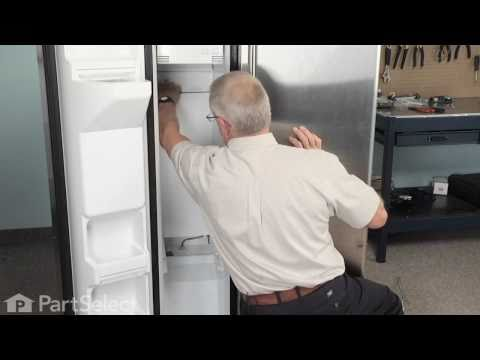kenmore elite fridge water hook up
