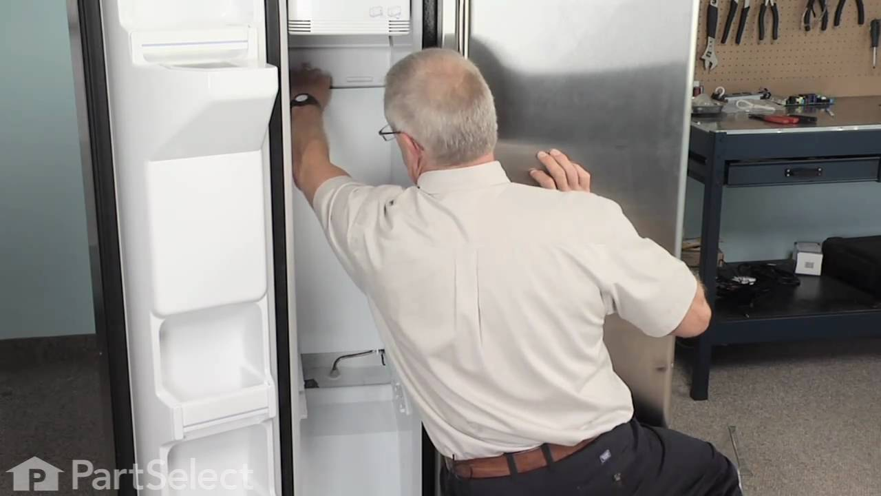 Ge Refrigerator Repair How To Replace The Defrost Heater
