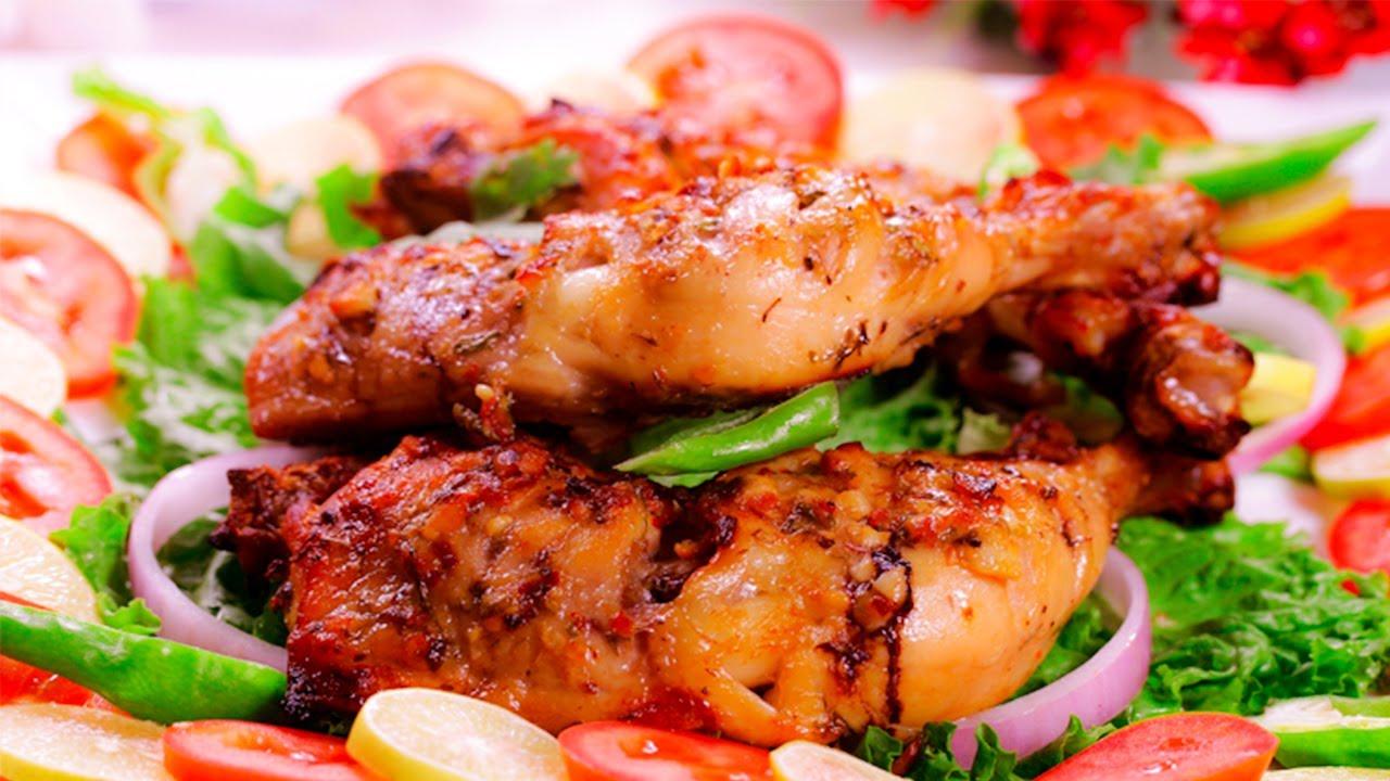 Yogurt Chicken Roast Recipe By Sooper Chef Youtube