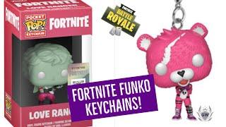 FORTNITE FUNKO POP KEYCHAINS! ALL FORTNITE BATTLE ROYALE FUNKO POP KEYRINGS REVELAED!