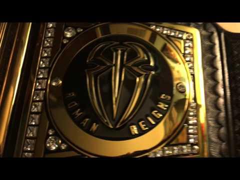 Roman Reigns Side Plates Wwe World Heavyweight