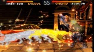Killer Instinct arcade Playthrough with B. Orchid