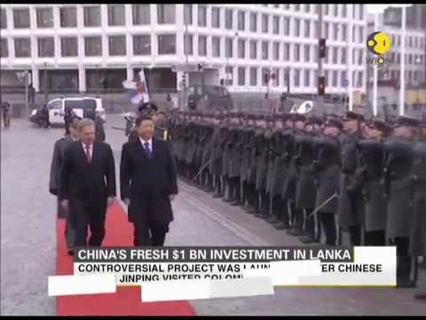 China's fresh $1 Bn investment in Sri Lanka