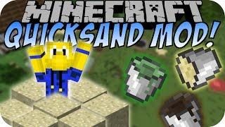 Minecraft QUICKSAND MOD (Treibsand, Moor, Teer) [Deutsch]