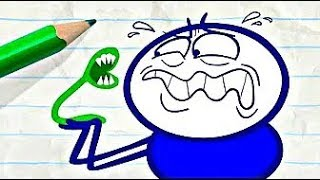 Slimy Insects Bug Pencilmate! -in- Pencilmation BUGGING BUGS Compilation - Cartoons for Kids