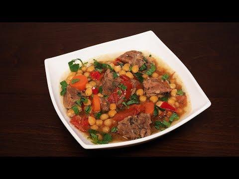рецепты из овощей с мясом пошагово