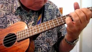 """BLACKBIRD by Paul McCartney - Ukulele arrangement by """"UKULELE MIKE"""""""
