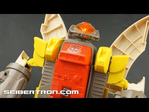 Transformers G1 Omega Supreme electronics demonstration video 151129a