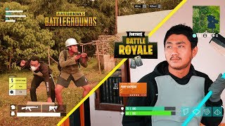 PUBG & FORTNITE IN REAL LIFE (compilation)