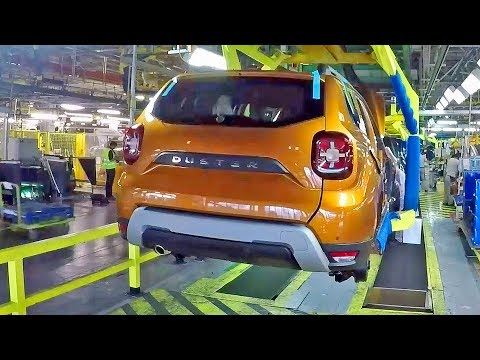Dacia Duster (2020) Production Line – Romanian Car Factory