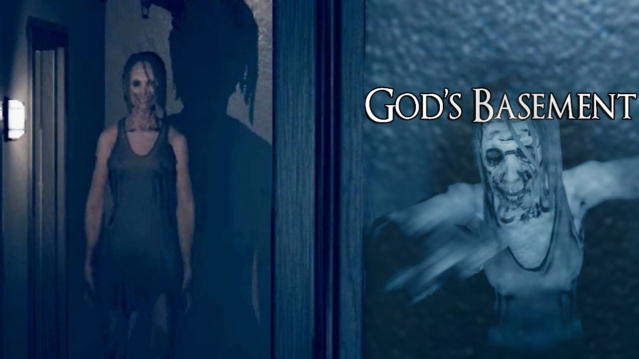 Download A Terrifying Grandma Is Hunting Me Down In This Horror Game And I Don't Like It! - God's Basement