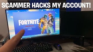 Scammer hacks my fortnite Account! 😔 (Scammer Get Scammed) Fortnite Save The World