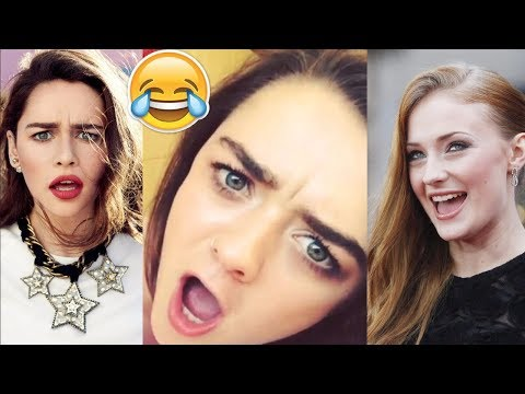 Game of Throne Cast Play Funny Games - Part 2 - Try Not To Laugh - 2017