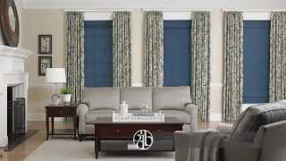 Custom Window Treatments- Blinds, Shades, Shutters, Curtains & Drapes