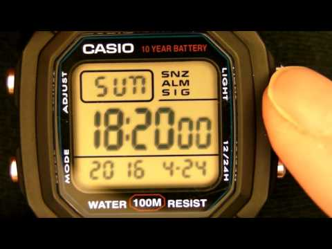 CASIO W-800H-1Module 3240 Men's Digital Wristwatch