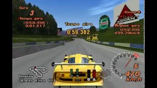 Gran Turismo 2 - Lotus Elise GT1 Lm Hybrid Car Licence X-09