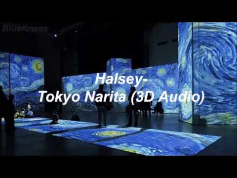 Halsey & Lido - Tokyo Narita (freestyle) | 3D Audio