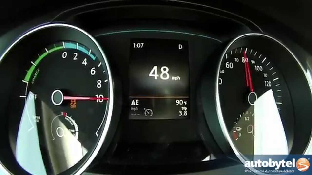 2015 Volkswagen e-Golf 0-60 MPH Test Video - Golf Electric ...