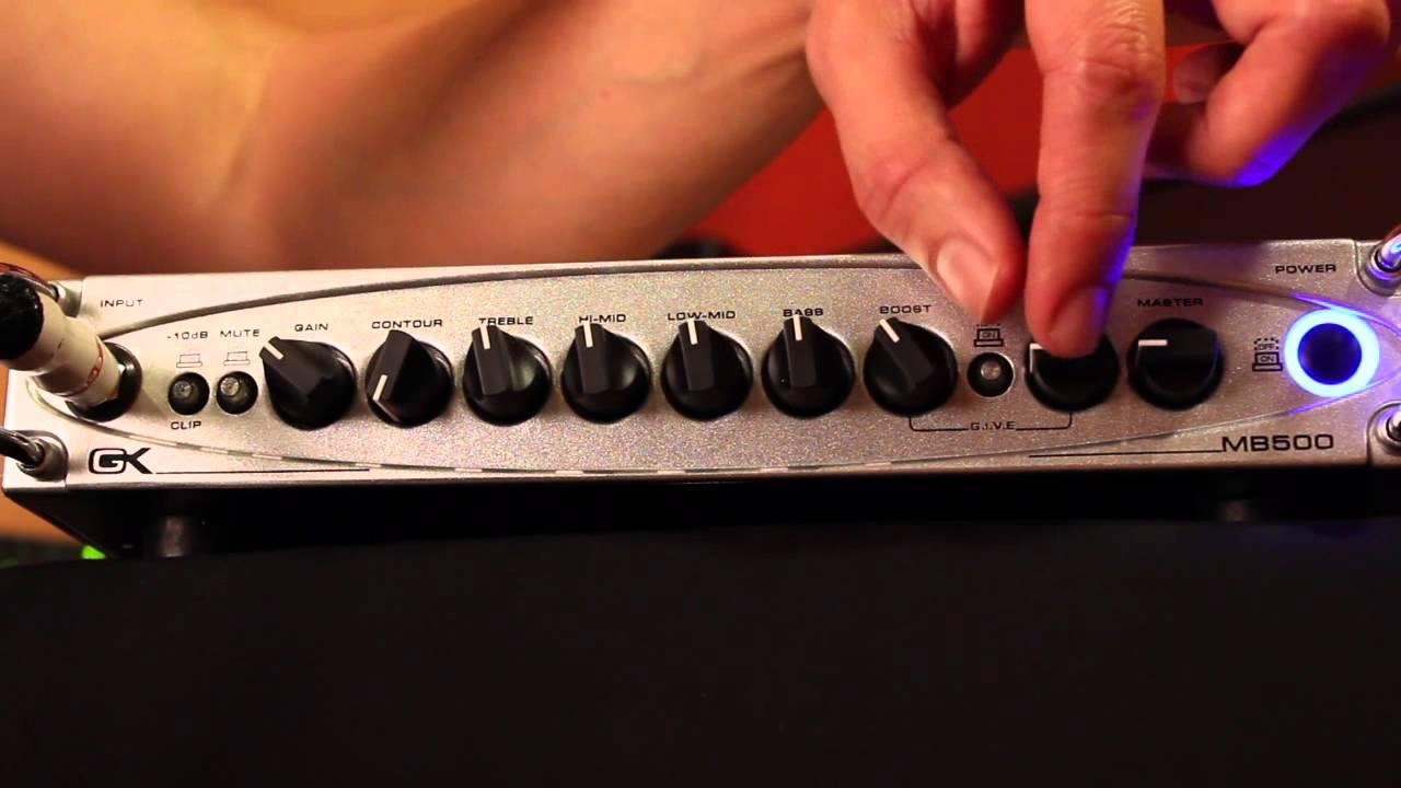 Gallien-Krueger MB2 500 Watt Bass Head