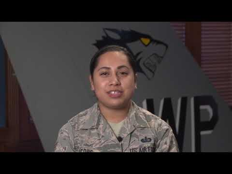 Military Greetings: SSgt. Michelle Jacobs - Deltona, Fla.