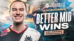 Better Mid Wins | LEC Spring 2020 Playoffs Semifinal G2 vs MAD Voicecomms