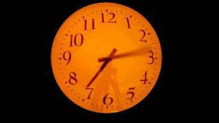 Clock fast reverse 1080p