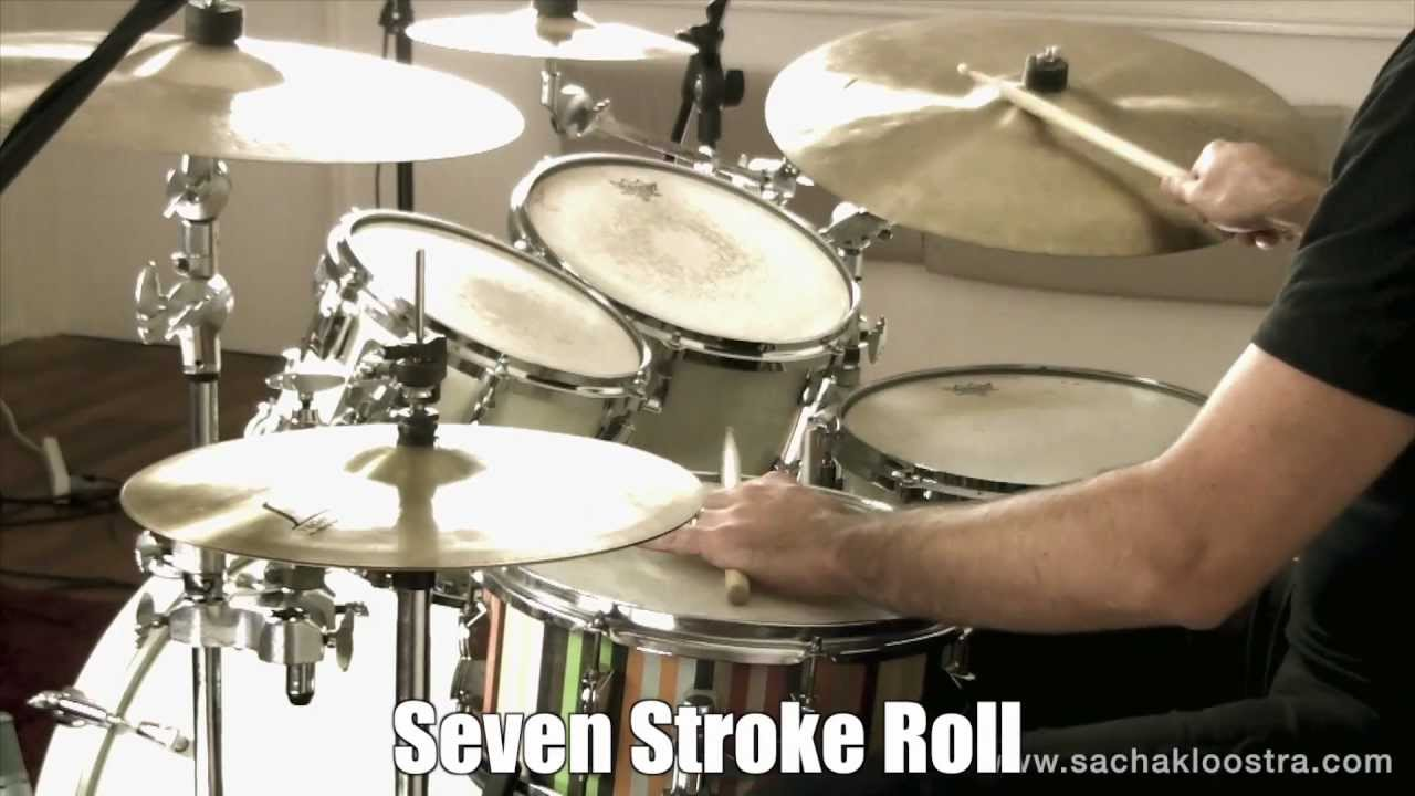 seven stroke roll drum rudiment on snare drum kit youtube. Black Bedroom Furniture Sets. Home Design Ideas