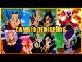 7 CAMBIOS DE DISE  O DEL ANIME Y MANGA DE DRAGON BALL SUPER   Z   GT   ANZU361