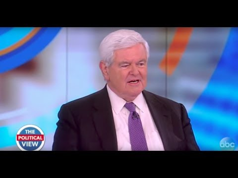 Newt Gingrich On Comey Hearing, Russia Investigation, Trump's Cabinet Meeting | The View