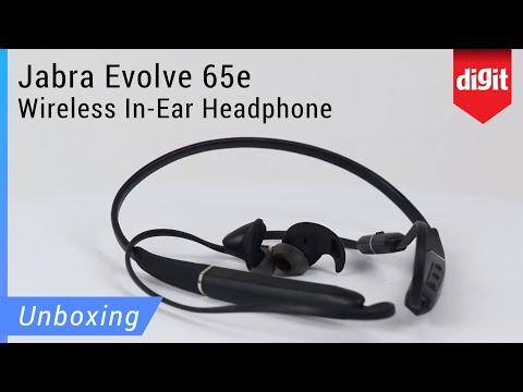 Jabra Evolve 65e Wireless In Ear Headphones Unboxing Youtube
