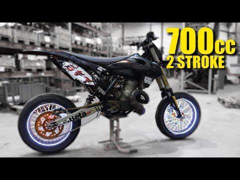 700cc 2 Stroke Supermoto