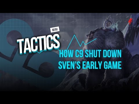 How C9 perfectly shut down Svenskeren's early game