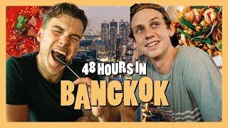 48 HOURS IN BANGKOK ft. Eating a Scorpion, Unreal Street Food & Violent Massages.