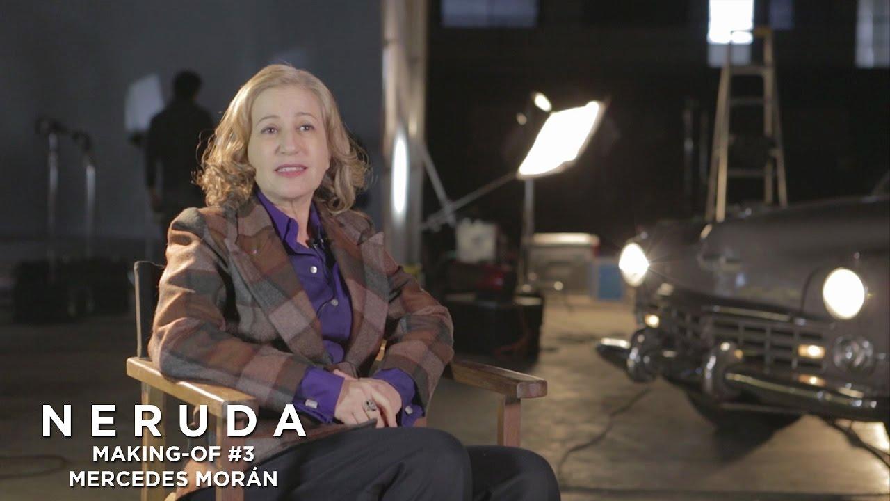 NERUDA - Making-of #3 - Mercedes Moran à propos de Delia del Carril
