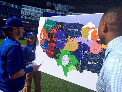 Cabbie Presents Josh Donaldson Predictor of Rain