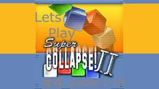 Lets play super collapse 2 (PC,GBA,XBOX) #4 Puzzles 1-10