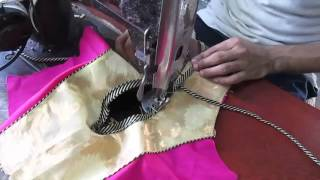 How to make Fashionable designer blouse J part 2 of 3