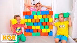 니코 타, 블라드, 엄마 컬러 큐브로 놀자