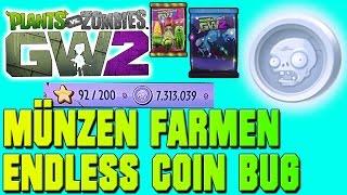 Plants vs Zombies Garden Warfare 2 MÜNZEN BUG - ENDLESS COIN CHEAT(Plants vs Zombies Garden Warfare 2 MÜNZEN BUG - ENDLESS COIN CHEAT 1. Ihr müsst zu zweit sein! 2. Aktiviert alle 10 Fische in der richtigen Reihenfolge ..., 2016-03-05T19:12:04.000Z)