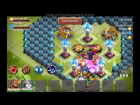 Castle Clash New Empower Talent On Warlock.