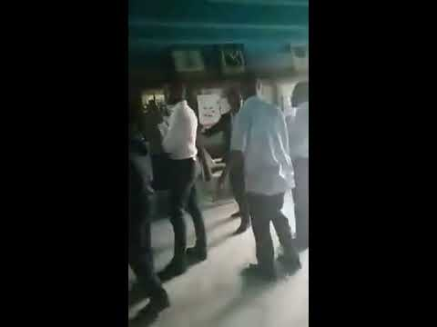 Security guards beating Doctors LUTH