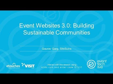 ETL2017 - Event Websites 3.0 - Building Sustainable Communities