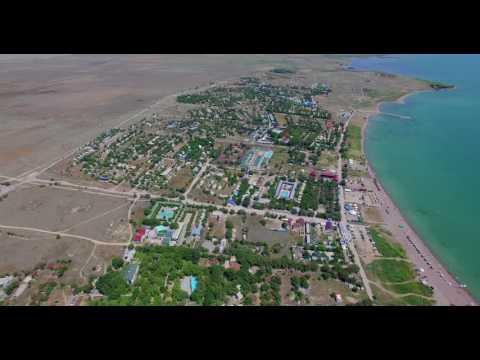 Алматинские городские зоны отдыха в Капчагае (4K)
