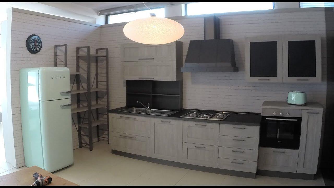 Cucina stosa city domu 39 s arredamenti vigevano pv montaggio in timelapse youtube - Stosa cucine prezzi ...