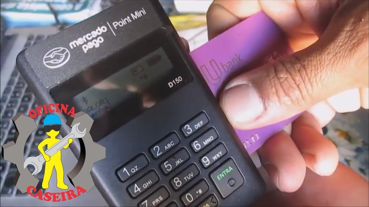 20004cbe1 Como Utilizar a Maquininha de Cartão do Mercado Pago Point Mini ...