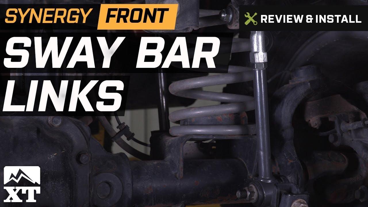 Front Suspension Stabilizer Bar Link fits 2007 Jeep Wrangler Set of 2