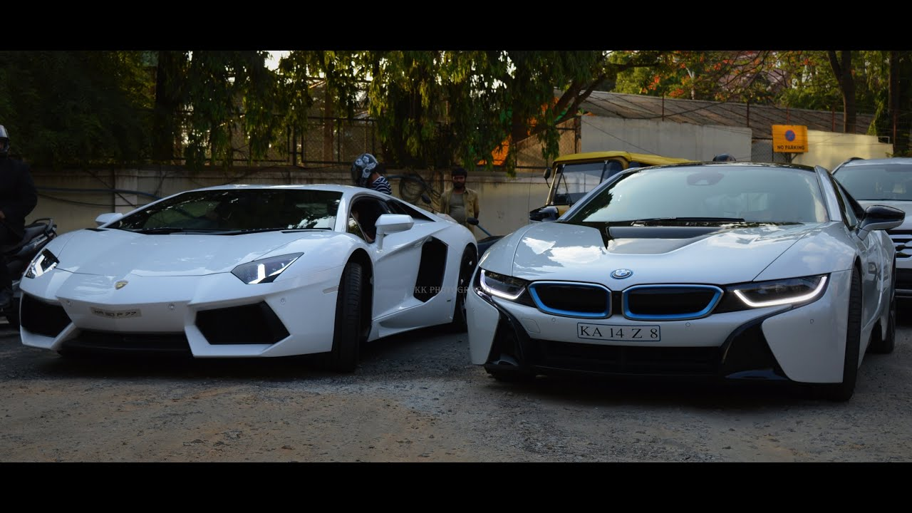 Bmw I8 Vs Lamborghini Lamborghini Vs Bmw